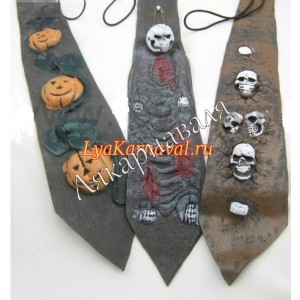 "галстук ""Хеллоуин"""