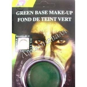 грим зеленый металлик