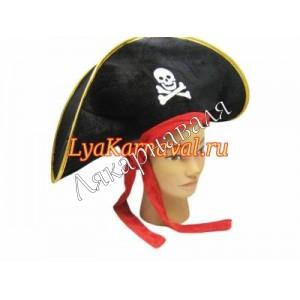 "шляпа ""Пират"" велюр"