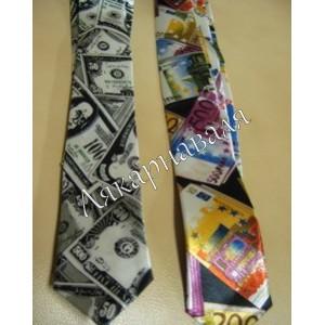 "галстук ""Деньги"""