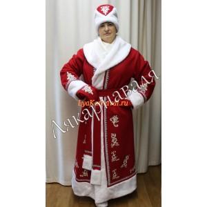 Дед Мороз с апликациями